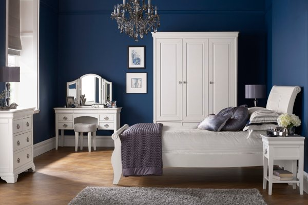Chantilly White Bedroom