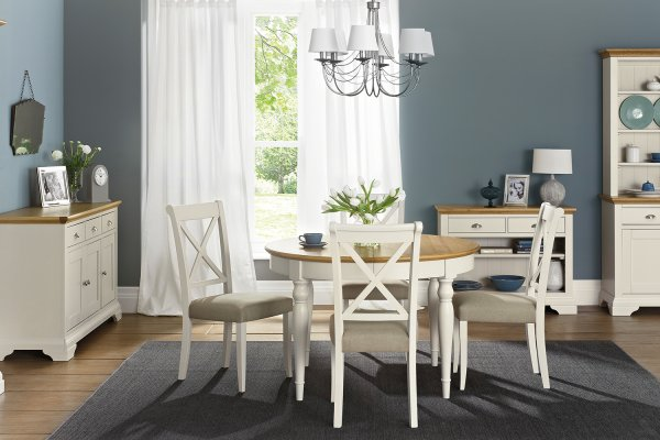 Hampstead Soft Grey & Oak Dining