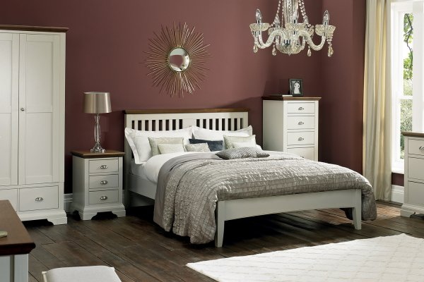 Hampstead Soft Grey & Walnut Bedroom