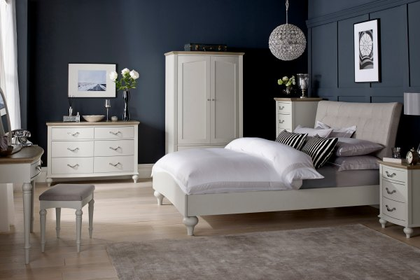 Montreux Grey Washed Oak & Soft Grey Bedroom