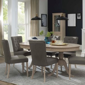 Bordeaux Chalk Oak Dining