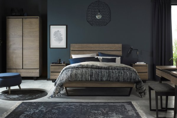 Tivoli Weathered Oak Bedroom