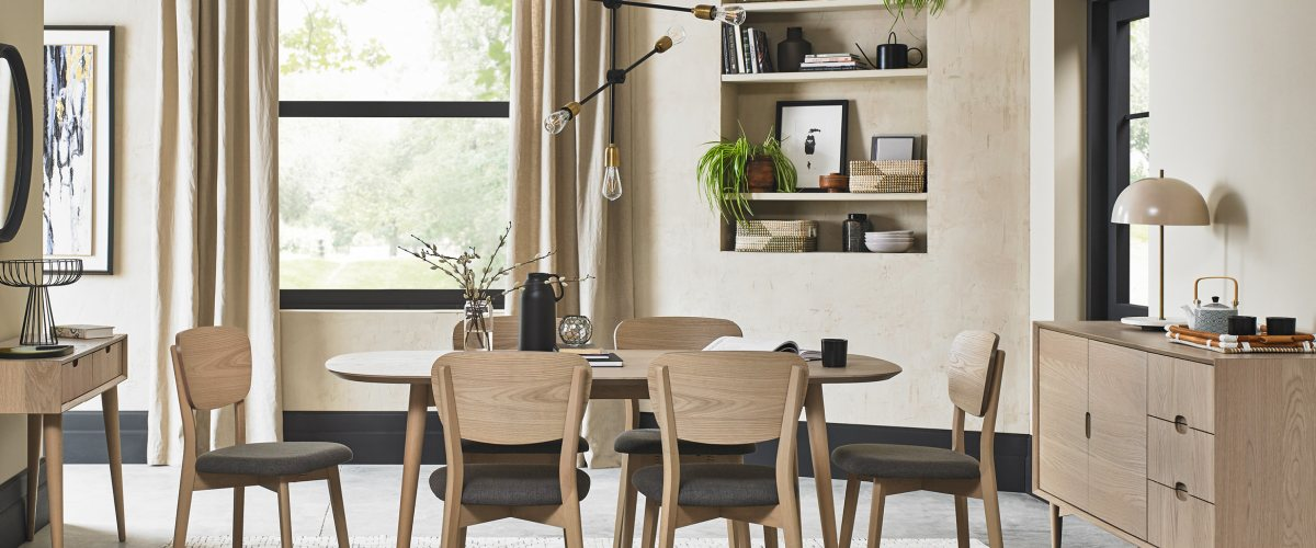 Dansk Scandi Oak Dining