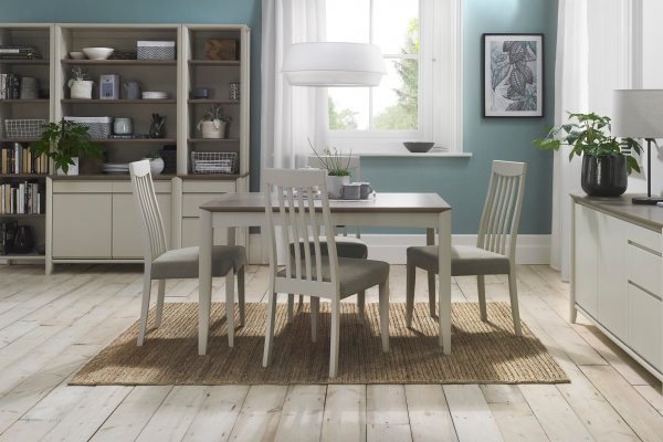 Bergen Grey Washed Oak & Soft Grey Dining