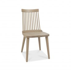 Spindle Chair - Scandi Oak (Pair)