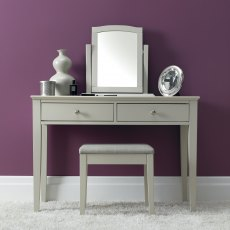Ashby Soft Grey Vanity Mirror