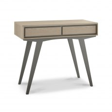 Brunel Scandi Oak & Dark Grey Dressing Table
