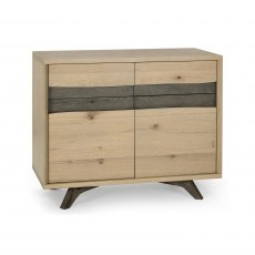 Cadell Aged Oak Narrow Sideboard