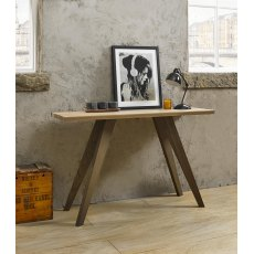 Cadell Aged Oak Console Table