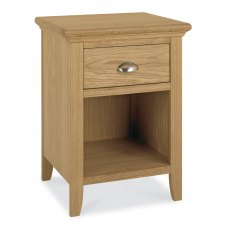 Hampstead Oak 1 Drawer Nightstand