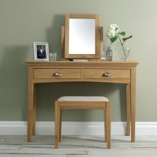 Hampstead Oak Vanity Mirror