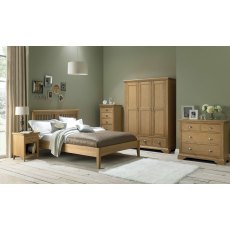 Hampstead Oak 2+2 Drawer Chest