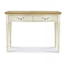 Montreux Pale Oak & Antique White Dressing Table