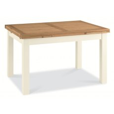 Provence Two Tone 4-6 Draw Leaf Extension Dining Table