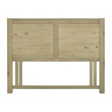 Turin Aged Oak Panel Headboard King 150cm