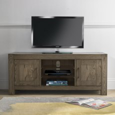 Turin Dark Oak Entertainment Unit