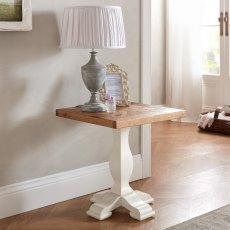 Belgrave Two Tone Lamp Table