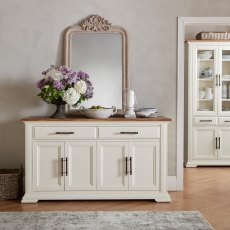 Belgrave Two Tone Wide Sideboard
