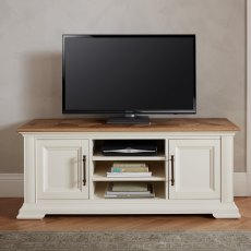 Belgrave Two Tone Wide TV Unit
