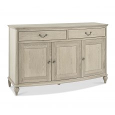 Bordeaux Chalk Oak Wide Sideboard