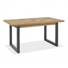 Indus Rustic Oak 4-6 Dining Table
