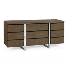 Tivoli Dark Oak Wide Sideboard