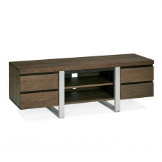 Tivoli Dark Oak Wide Entertainment Unit