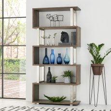 Tivoli Dark Oak Open Display Unit