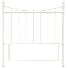 Alice Antique White Headboard Double 135cm