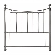 Isabelle Antique Nickel Headboard Double 135cm