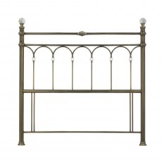 Krystal Antique Brass Headboard Double 135cm