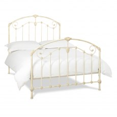 Lauren Antique Ivory Bedstead King 150cm