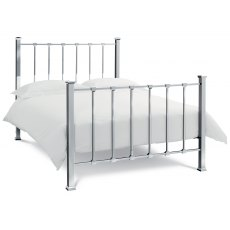 Madison Shiny Nickel Bedstead King 150cm