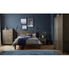 Turin Dark Oak Bedroom Set 'B'