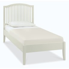 Ashby Soft Grey Slatted Bedstead Single 90cm