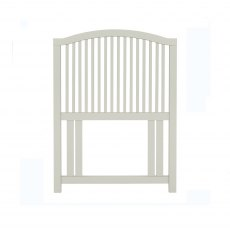 Ashby Soft Grey Slatted Headboard Single 90cm