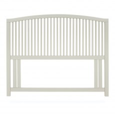 Ashby Soft Grey Slatted Headboard Small Double 122cm