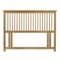 Atlanta Oak Headboard Small Double 122cm