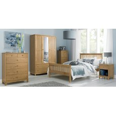 Atlanta Oak Headboard Double 135cm