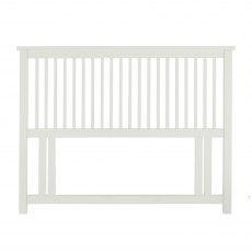 Atlanta White Headboard Small Double 122cm