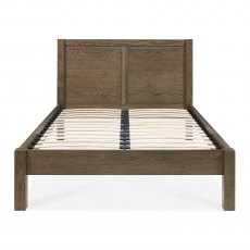 Turin Dark Oak Panel Low Footend Bedstead Super King 180cm