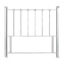 Madison Shiny Nickel Headboard King 150cm
