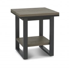 Tivoli Weathered Oak Lamp Table