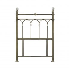 Krystal Antique Brass Headboard Single 90cm
