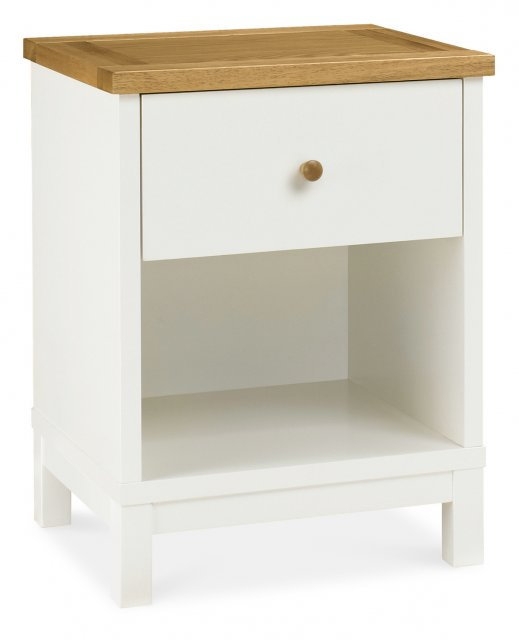 Gallery Collection Atlanta Two Tone 1 Drawer Nightstand