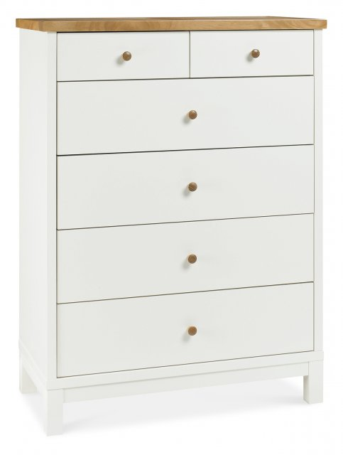 Gallery Collection Atlanta Two Tone 4+2 Drawer Chest