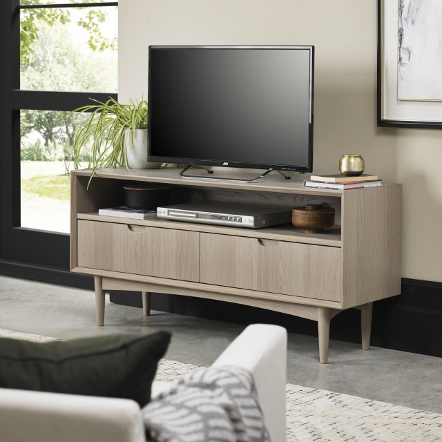 Gallery Collection Dansk Scandi Oak Entertainment Unt