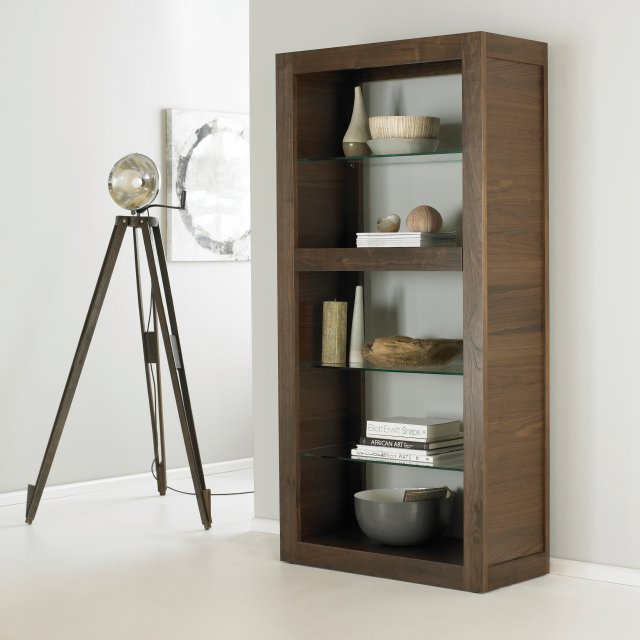 Premier Collection Akita Walnut Open Display