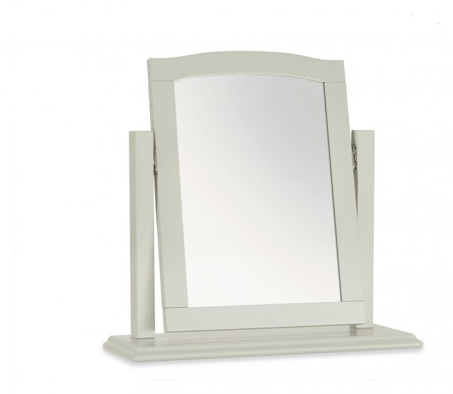 Premier Collection Ashby Soft Grey Vanity Mirror