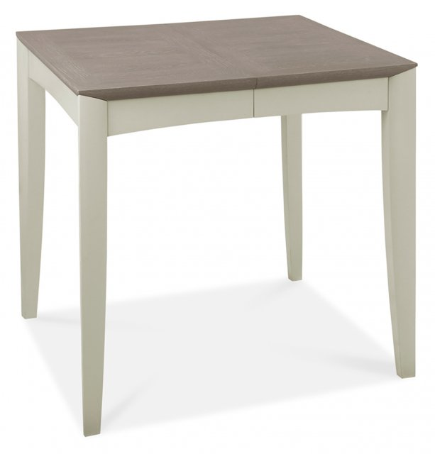 Premier Collection Bergen Grey Washed Oak & Soft Grey 2-4 Extension Table